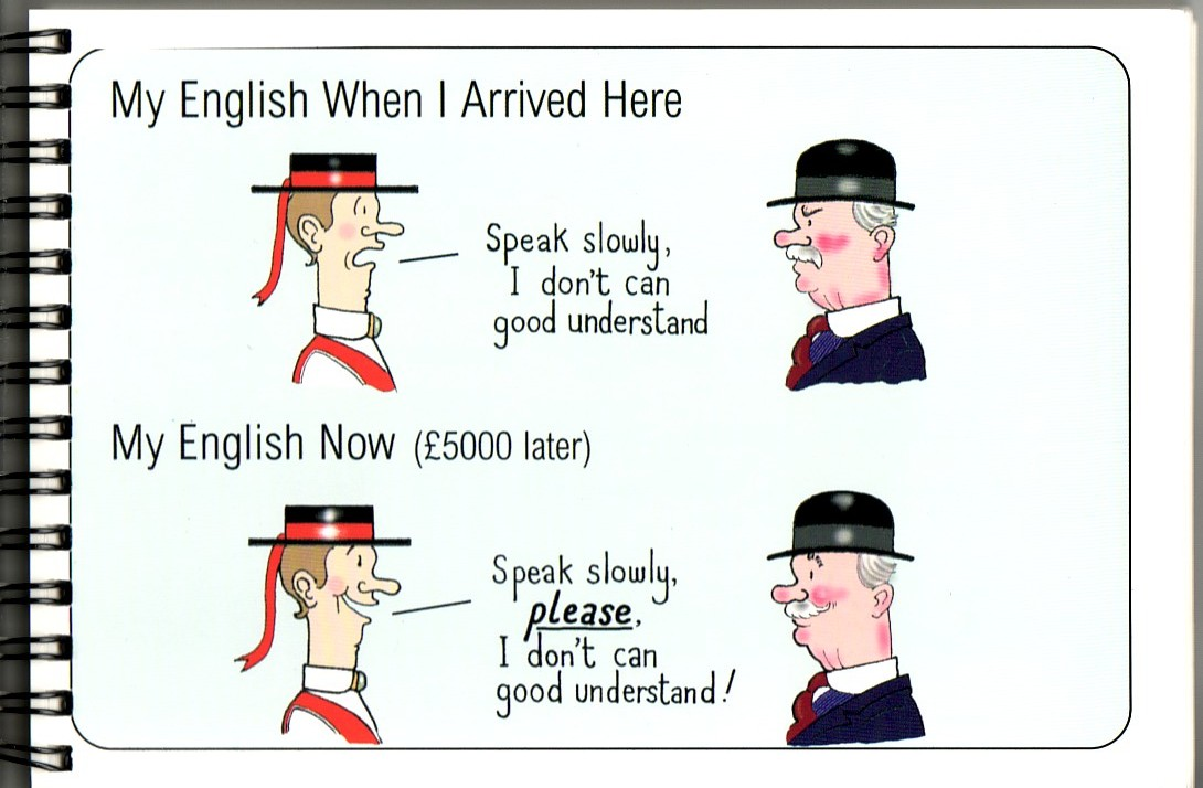 why speak english Success tip: the importance of speaking proper english why do you speak english with an asian accent nobody had ever asked him that question before.